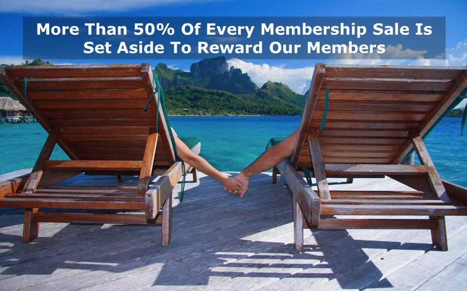 More Than 50% Of Every Membership Sale Is Set Aside To Reward Our Members