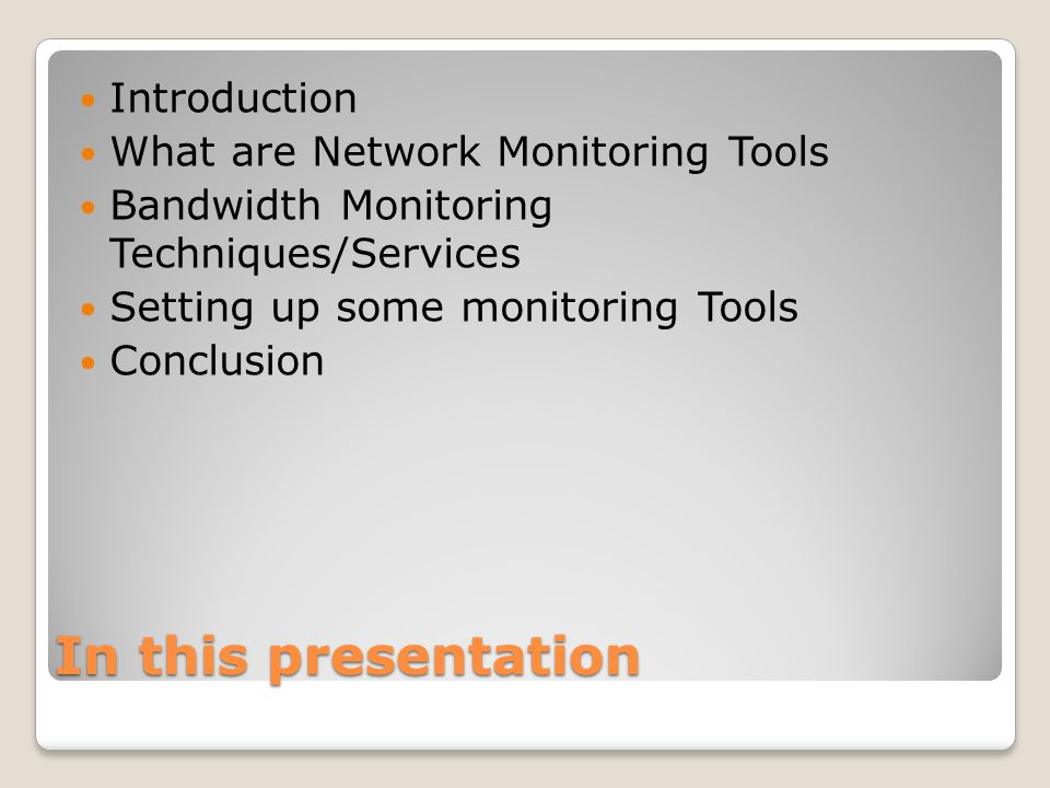 Open Source Network Monitoring Tools Yasir Iqbal 22-May ppt