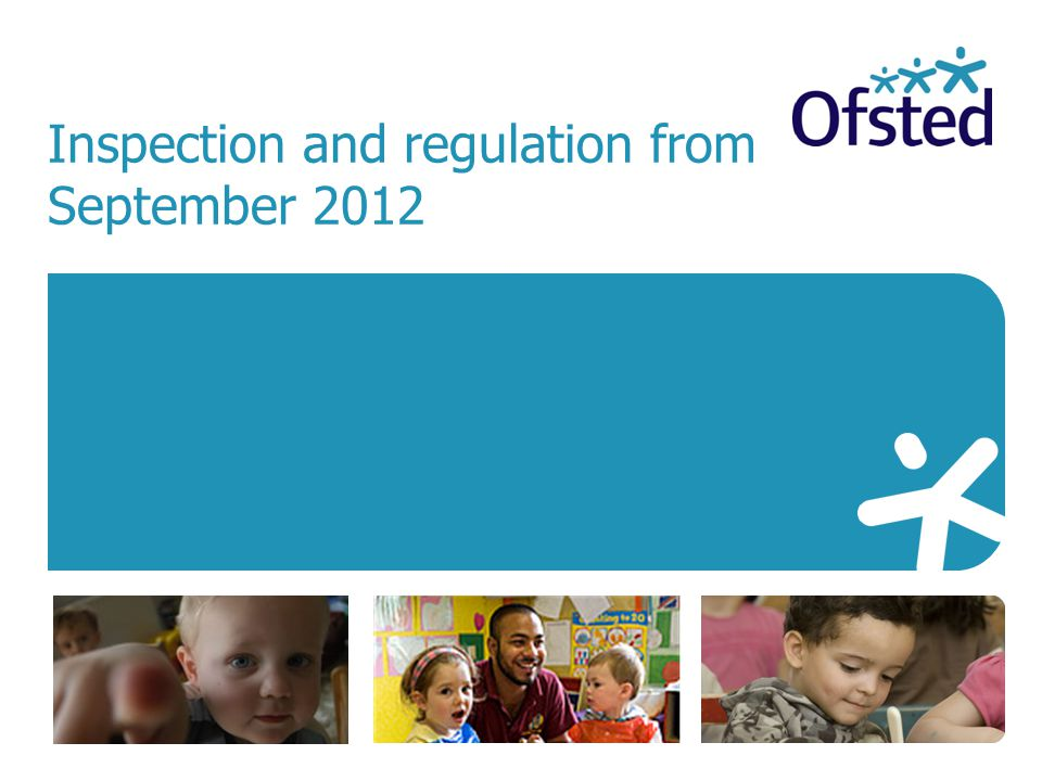 Inspection and regulation from September 2012