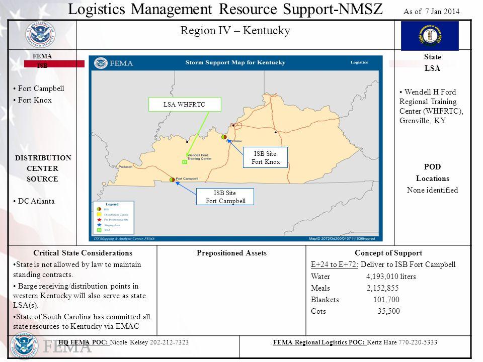 FEMA RIV All Hazards Plan Annex N (NMSZ) DISCLAIMER This document is