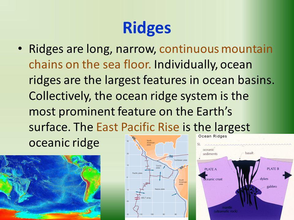 Unit 6 Ocean Floor Structure Sea Floor Features Earth S Rocky