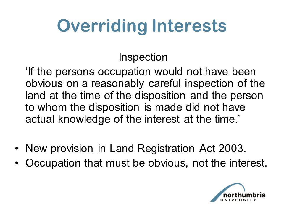 land registration act 2003