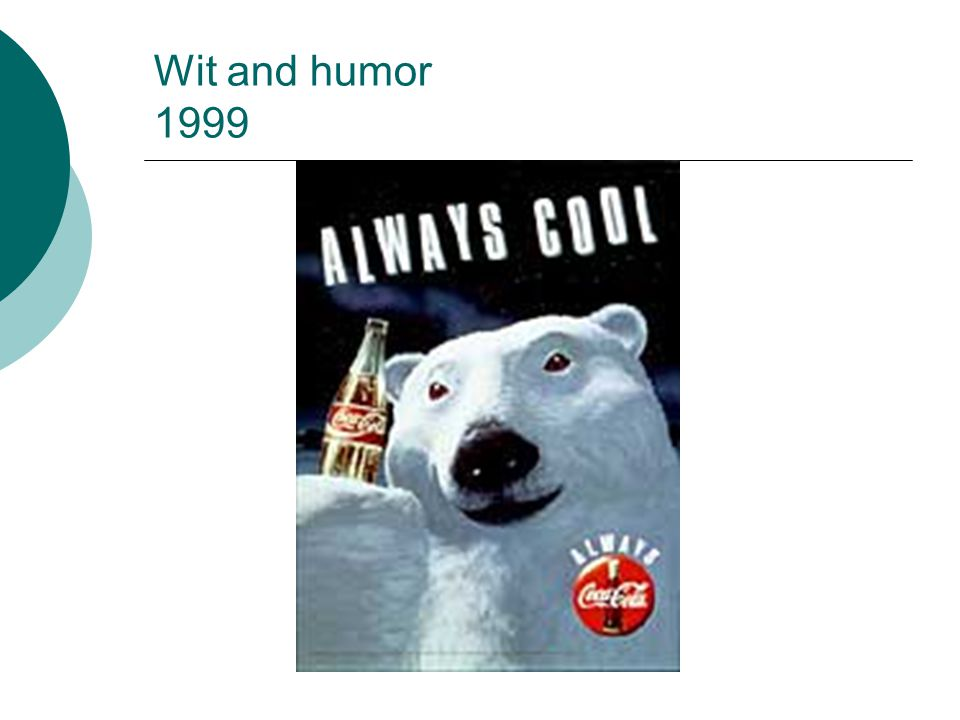Wit and humor 1999