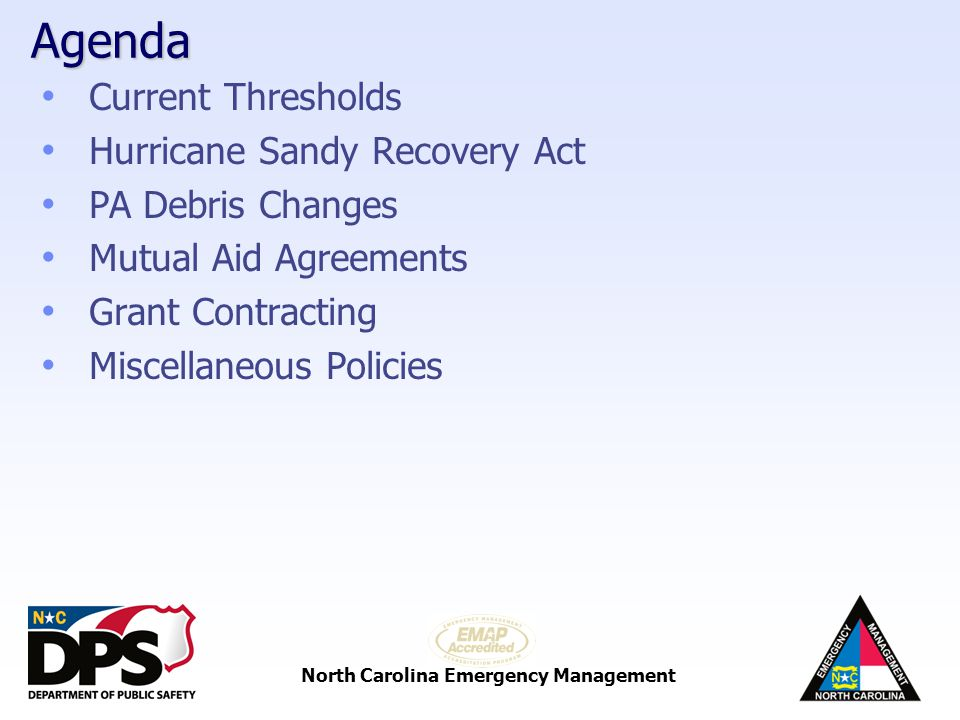 Bps Disaster Management Strategy >> North Carolina Emergency Management Recovery Disaster Recovery