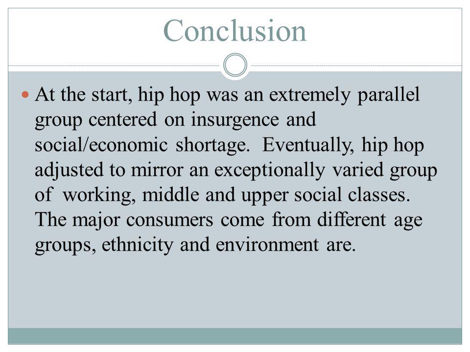 hip hop conclusion