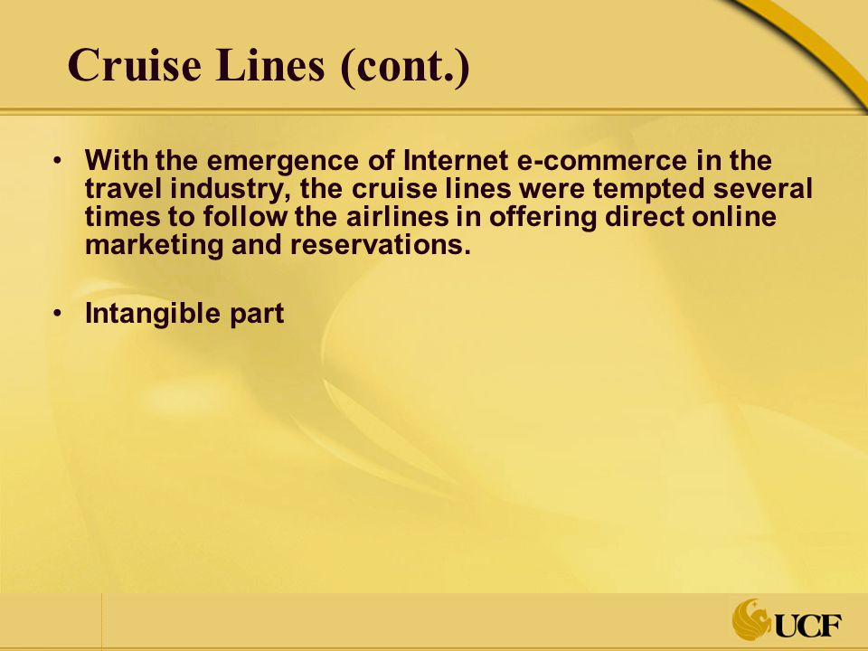 ecommerce in tourism industry E-commerce in the travel and tourism industry to access international tourism destinations many people prefer the use of the internet facilities since foreign tourism companies may not have agents in all countries in the world.