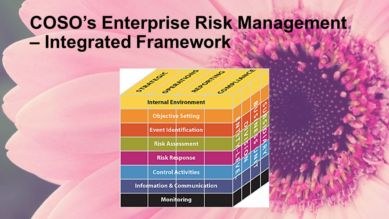 COSO's Enterprise Risk Management – Integrated Framework
