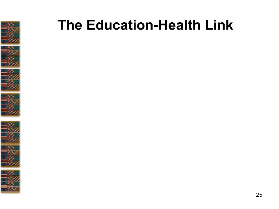 25 The Education-Health Link