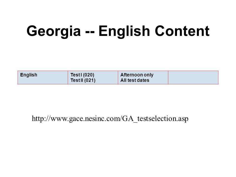 GACE – English Teacher Certification ppt download