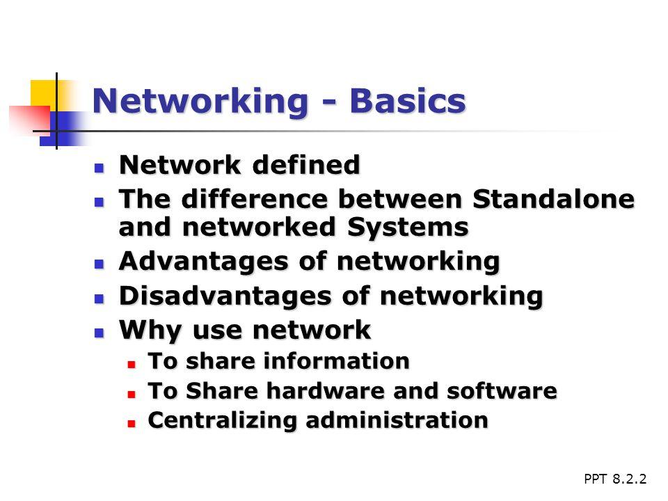 Networking basics ppt.