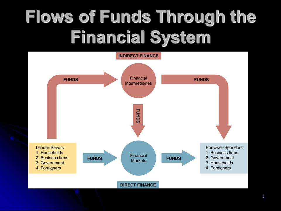 3 Flows of Funds Through the Financial System