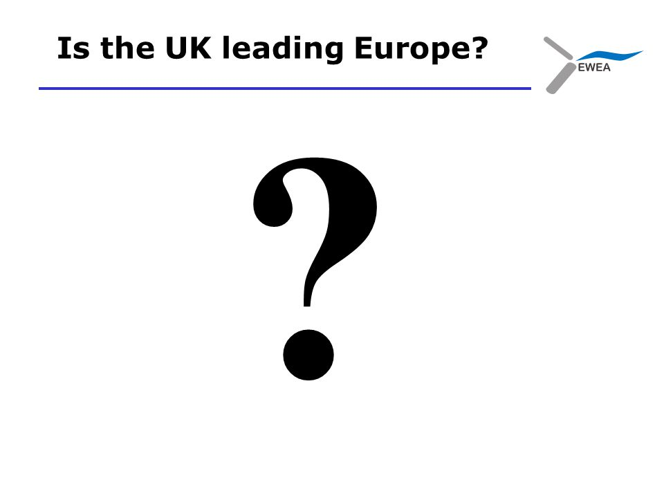 Is the UK leading Europe