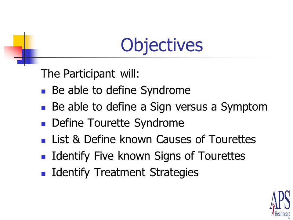 tourettes syndrome symptoms swearing