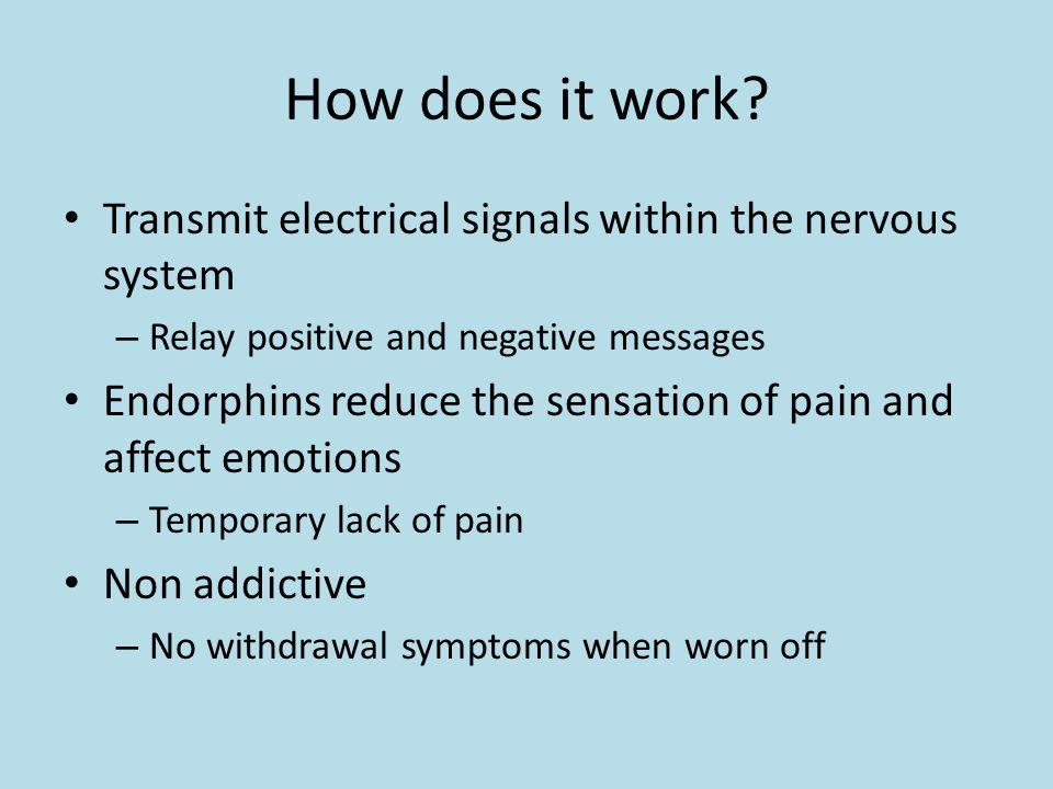 Endorphins Rachel LeBeau  Endorphins? Chemicals in the brain