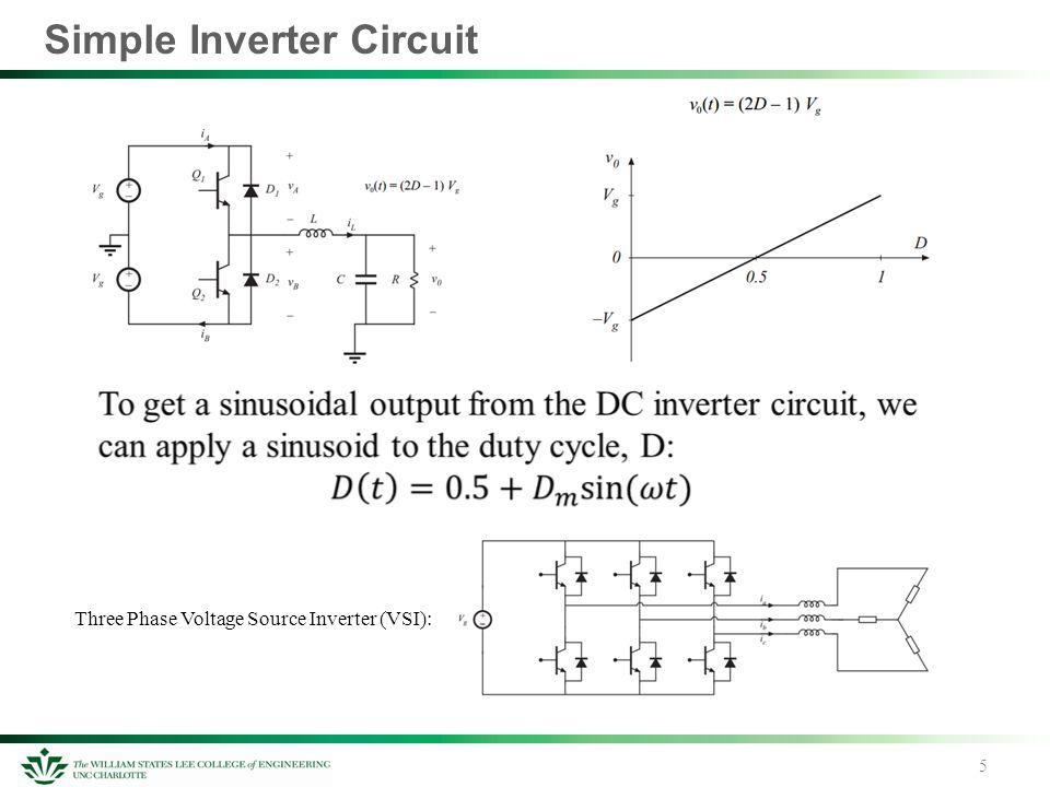 5 simple inverter circuit 5 three phase voltage source inverter (vsi):