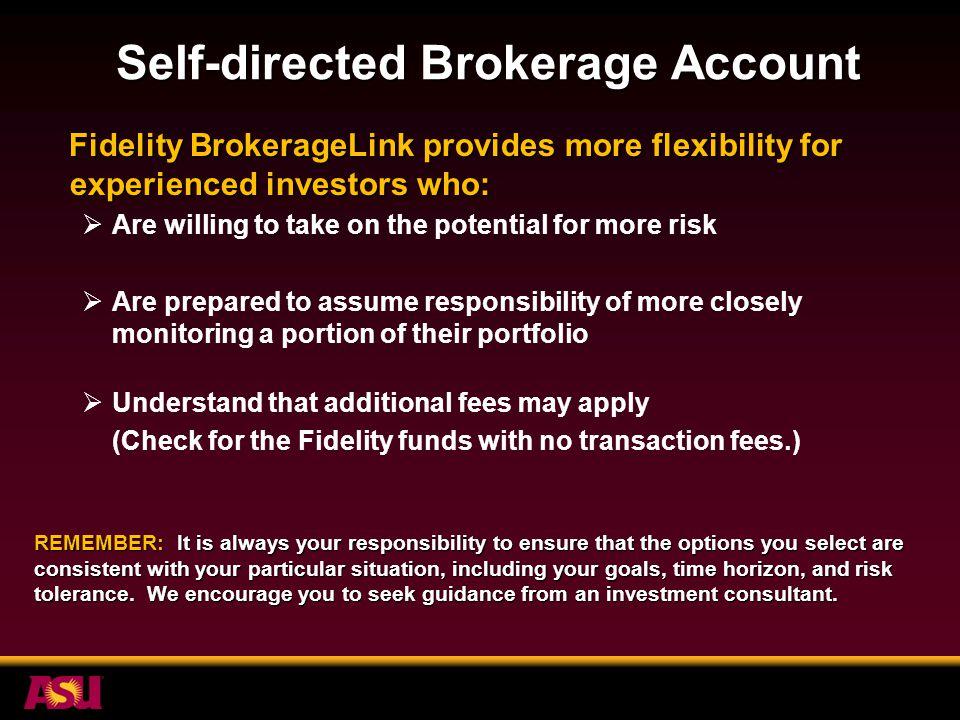 Self Directed Ira Fidelity >> Your Arizona University System Voluntary 403 B Plan Sheree