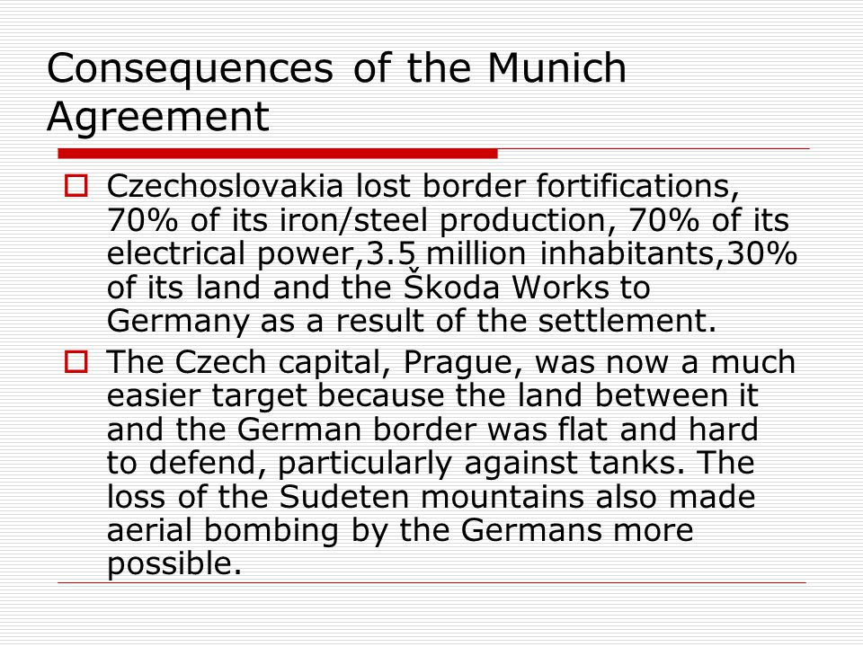the munich agreement essay Open document below is an essay on munich agreement from anti essays, your source for research papers, essays, and term paper examples.
