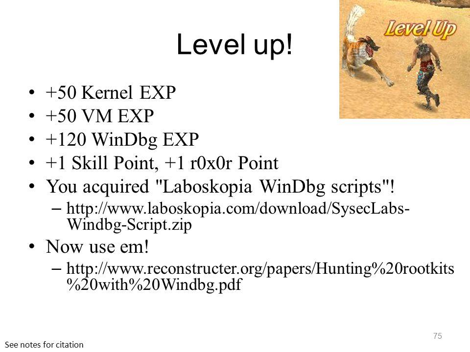 Revealing Stealth Malware UMD CMSC389M Xeno Kovah – Jan