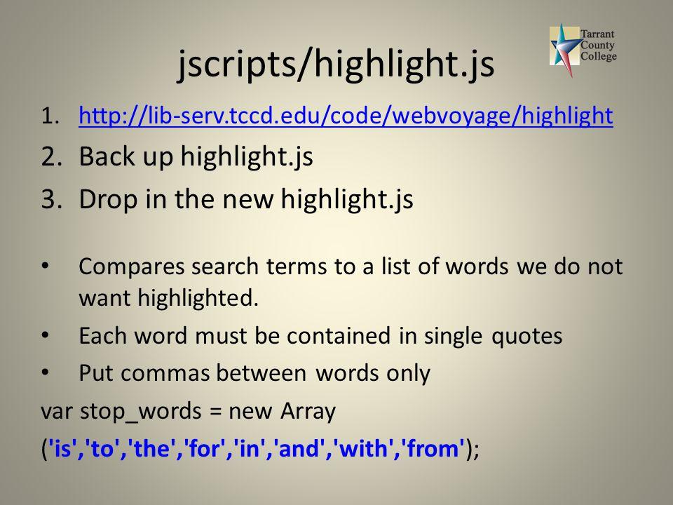 CSS and JavaScript Tips and Tricks for WebVoyage 7 Jim Robinson