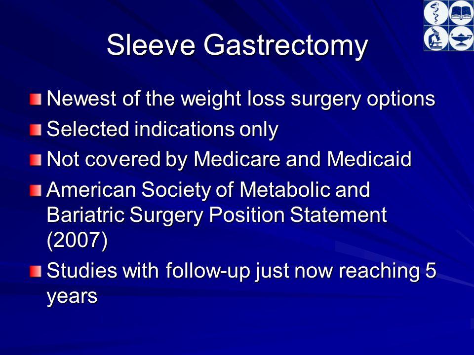 Introducing The Sleeve Gastrectomy Sleeve Gastrectomy As A Bariatric