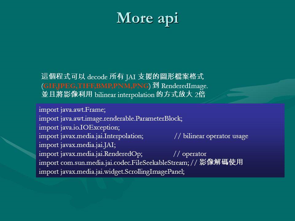 Java and Imaging  Paint paint() methodpaint() method AWT