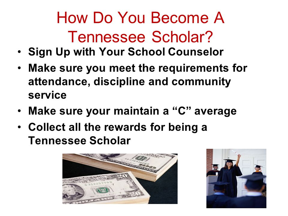 How Do You Become A Tennessee Scholar.