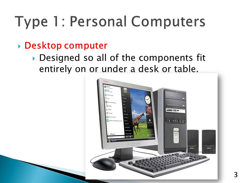 "1  1  Name the seven different ""types"" of computers  2  Name"