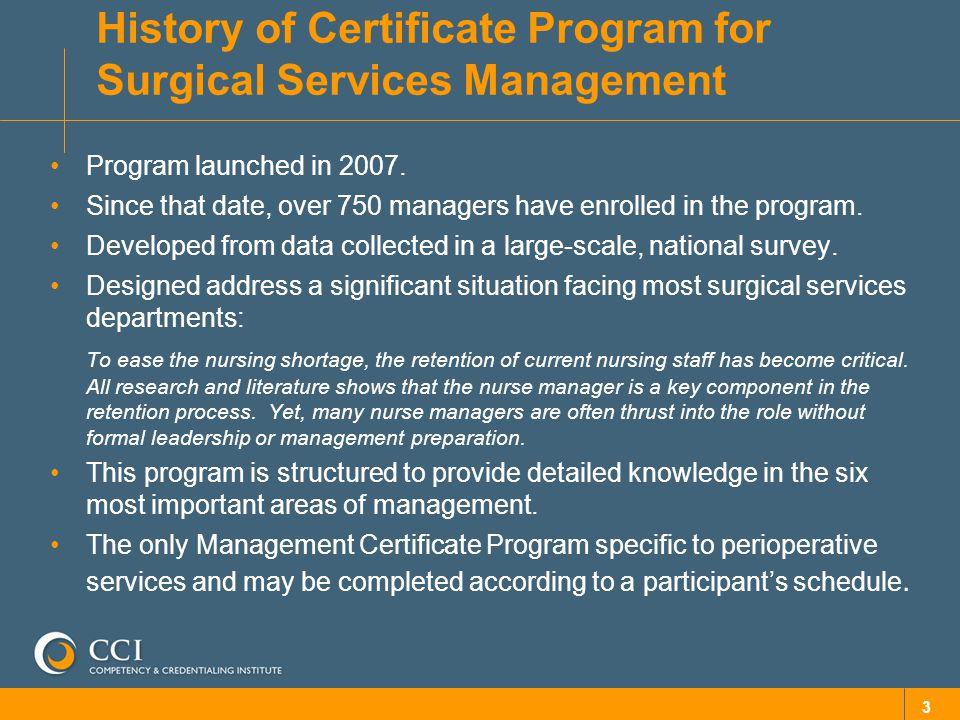 Institutional Management Development Training Program Using Cci