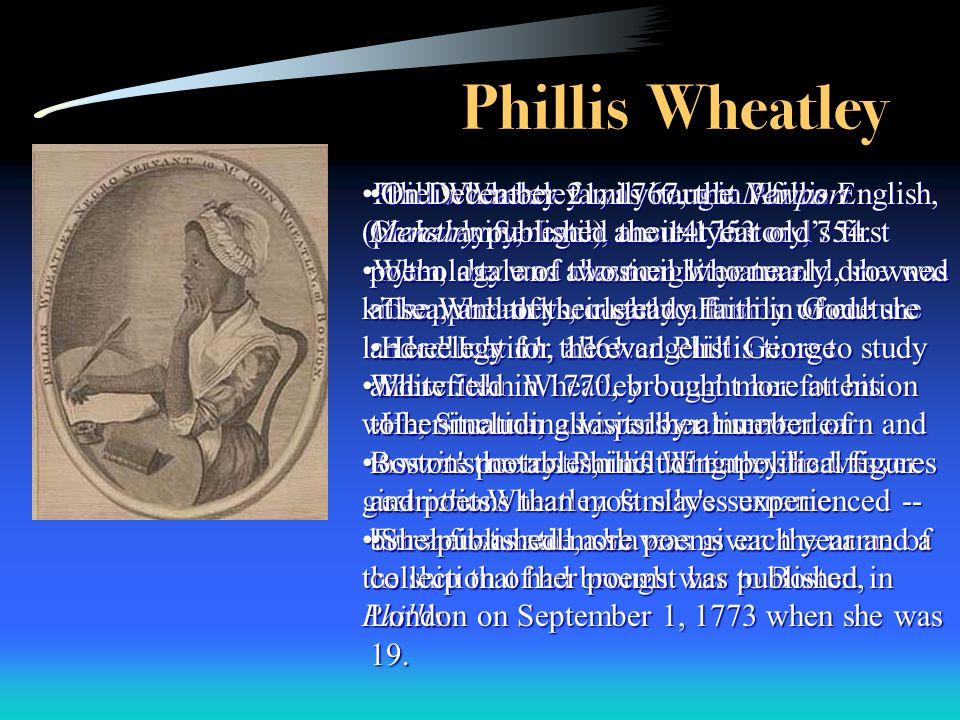 4 Phillis: Phillis Wheatley Worksheet At Alzheimers-prions.com