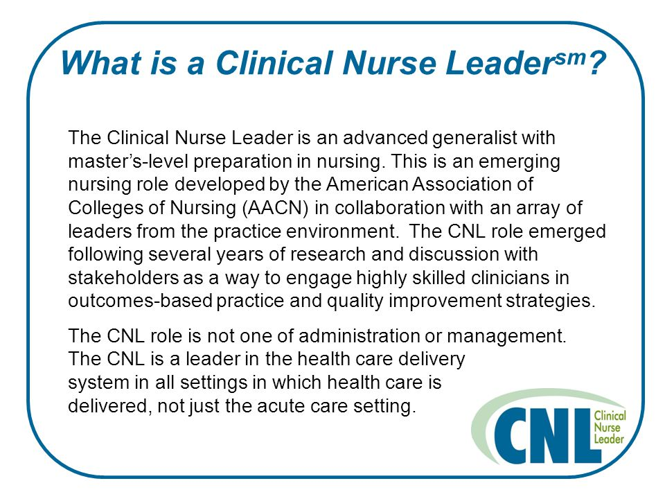 clinical nurse leader vs nurse practitioner