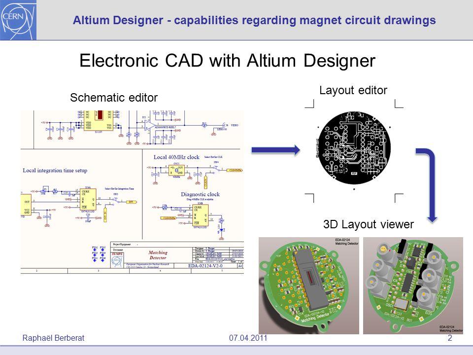MPE meeting 07/04/2011 Altium Designer - capabilities regarding ...