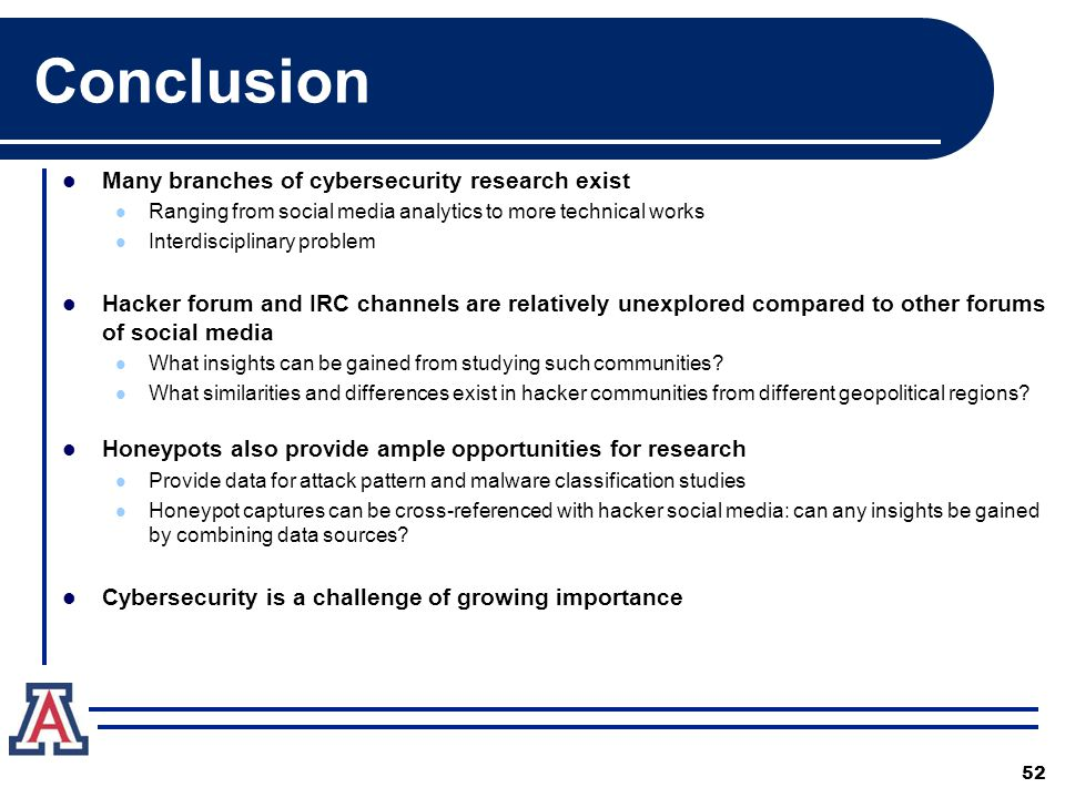 Cybersecurity Research Overview Victor 1/6/ ppt download