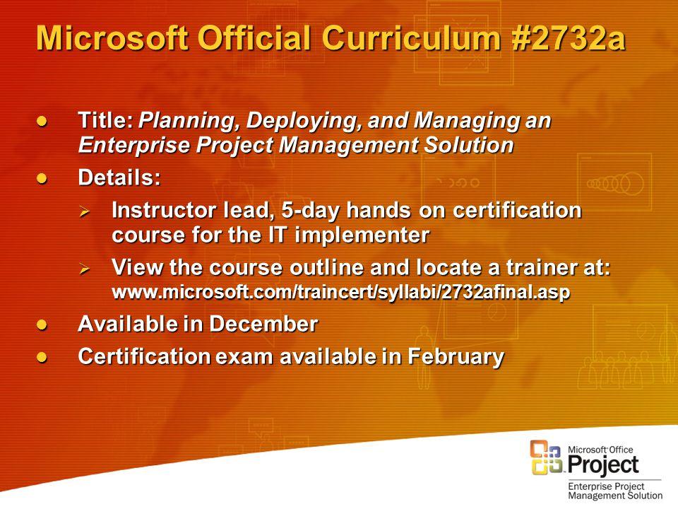 Microsoft Office Project Training Materials Jon Jaffe Information