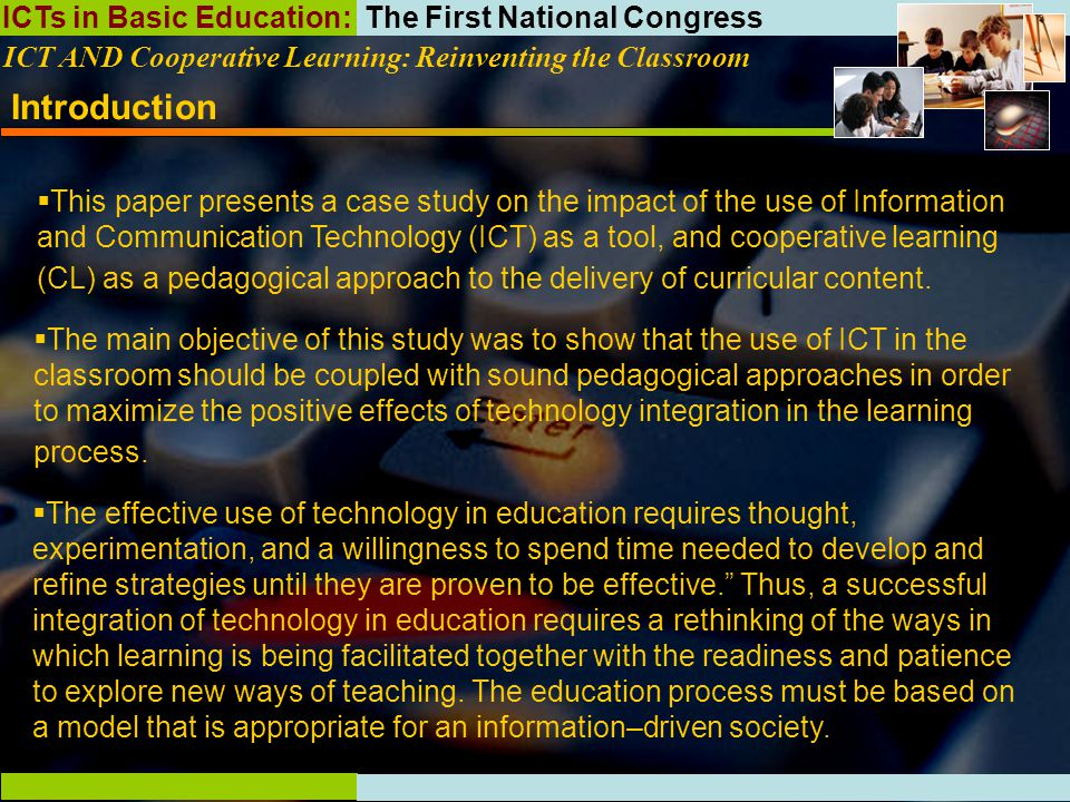 impact of information and communication technology on education