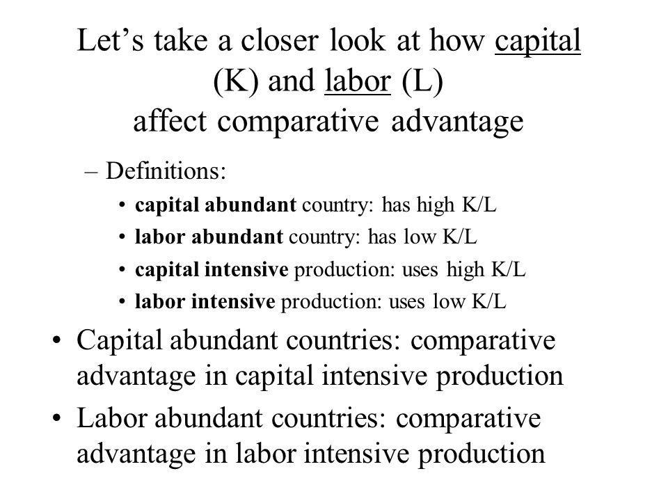 capital abundant country