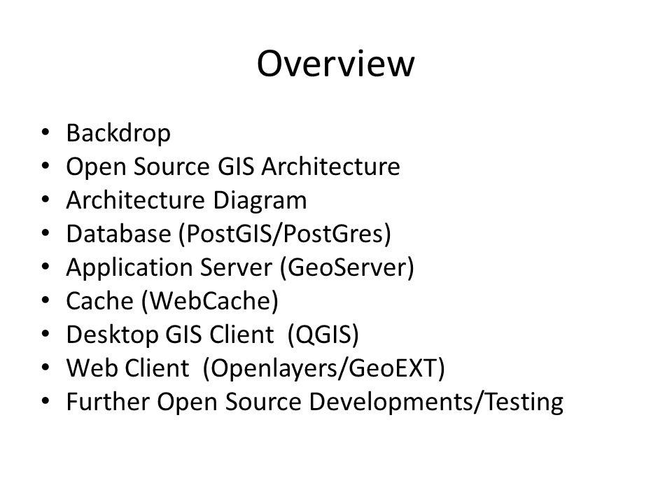 Open Source GIS Architecture Testing at EPC Nomeneta Saili