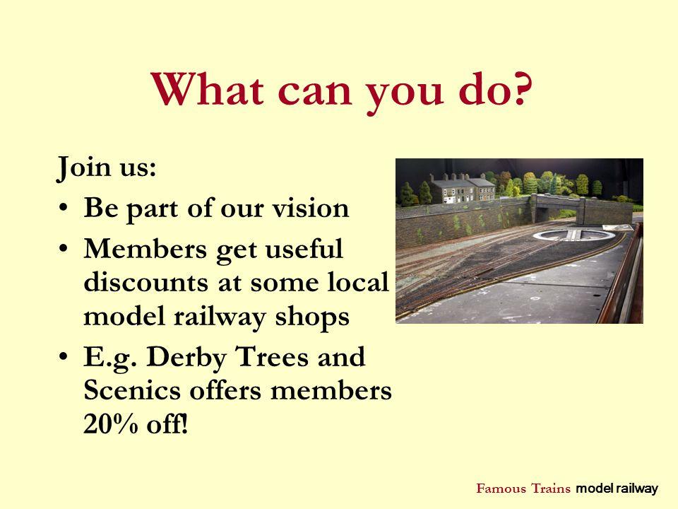 Famous Trains model railway Markeaton Park, Derby - ppt download