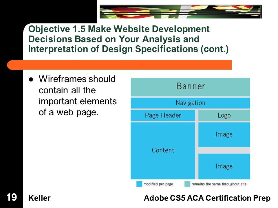 Dreamweaver Domain 3 KellerAdobe CS5 ACA Certification Prep ...