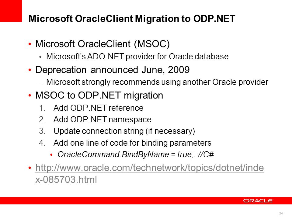 1  Getting Started with Oracle and NET Riaz Ahmed Director