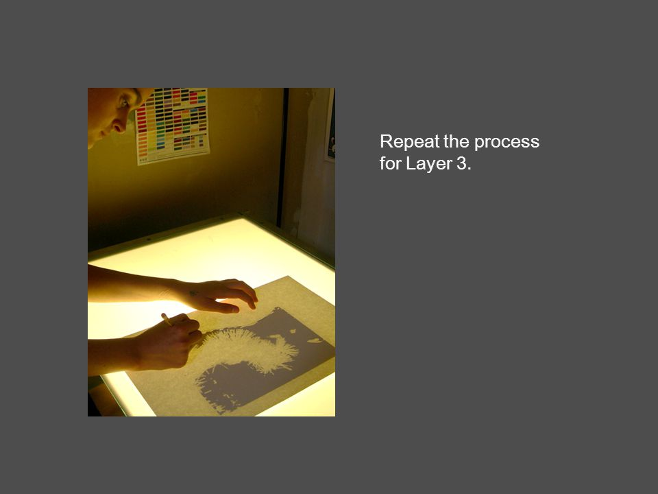 Repeat the process for Layer 3.