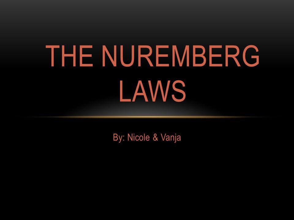 nuremberg laws examples