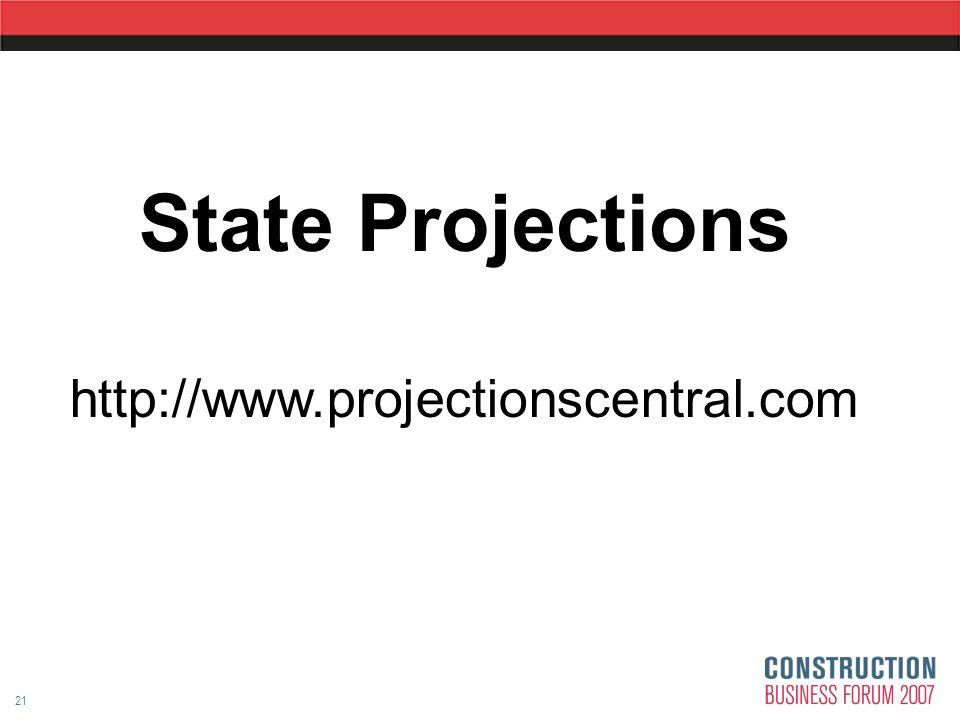 21 State Projections