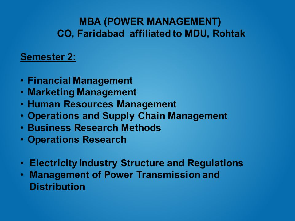 National Power Training Institute An ISO 9001 : 2000 & ISO