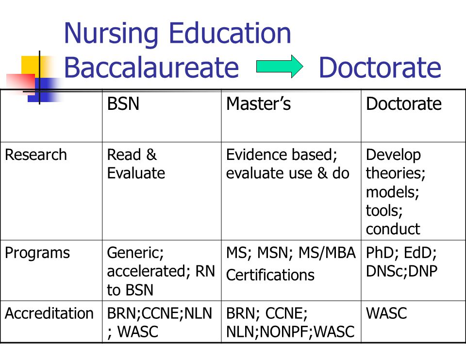 analysis and critique of nursing bsn educational In this course, students and mentors plan a program of study leading to the baccalaureate degree, focused around students' understanding of the nursing profession, as well as their analysis of their own academic and professional skills, experiences, and goals.