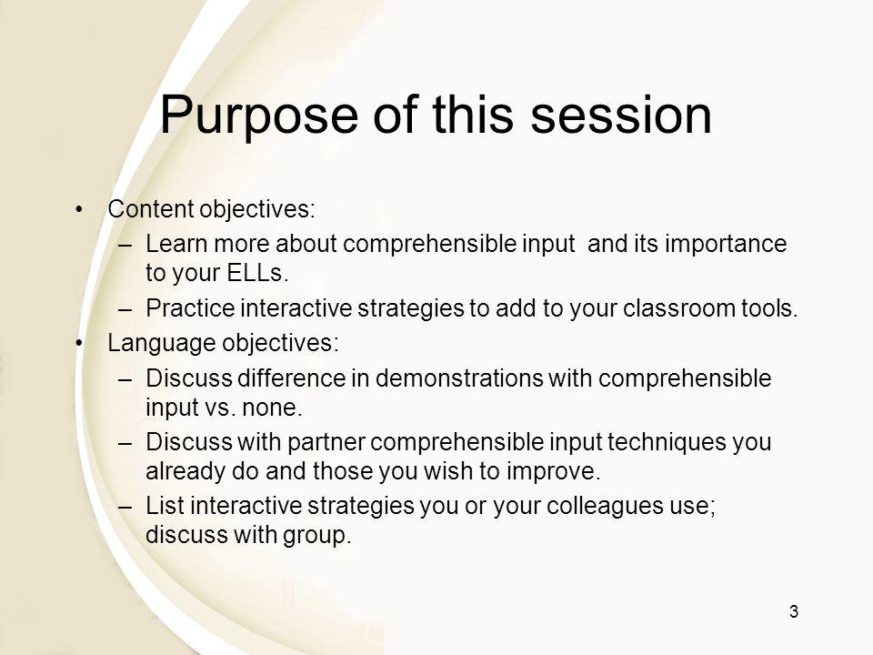 Essential ESL Teaching Methods: Comprehensible Input