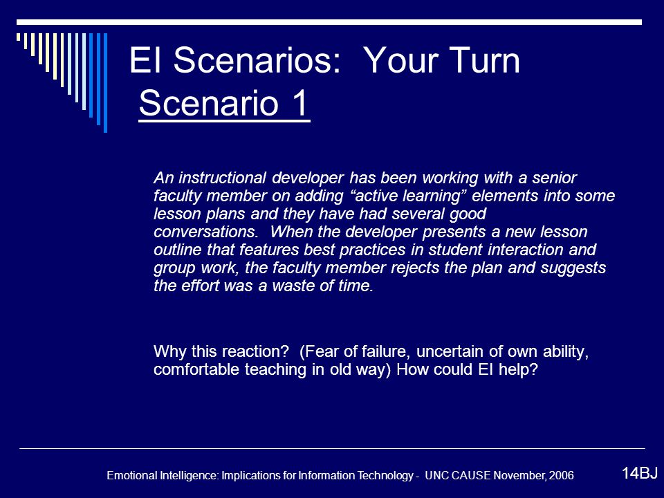 Emotional Intelligence Implications For Information Technology
