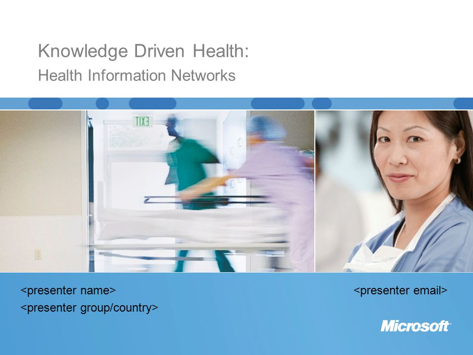 Knowledge Driven Health: Health Information Networks