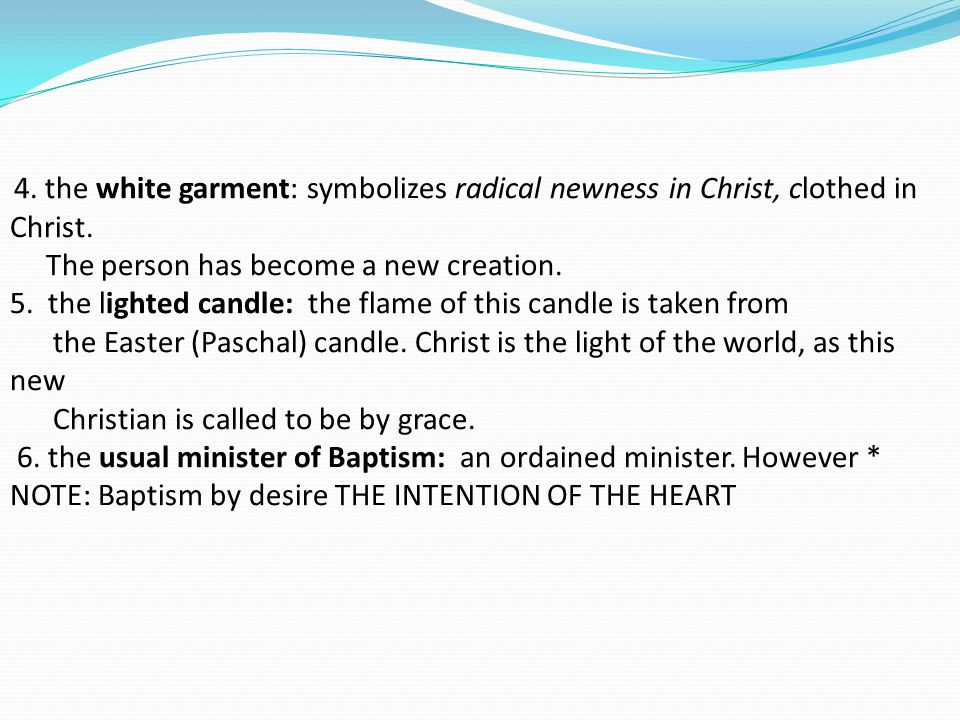 A What Does Baptism Celebrate 1 The Baptized In Reborn As A Child