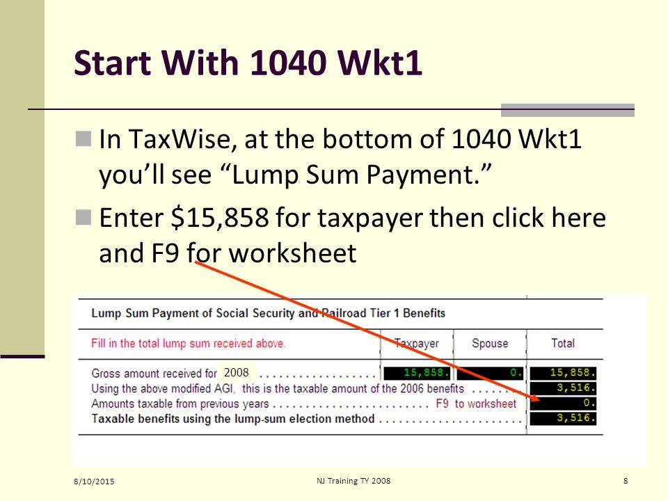 8102015nj Training Ty Social Security Rr Retirement Tier 1 Blue