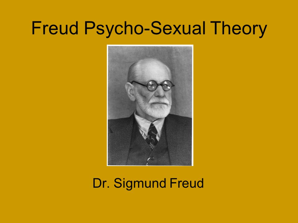 Freud Psycho-Sexual Theory Dr. Sigmund Freud